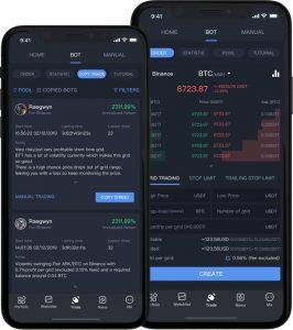 app bot de trading para móviles
